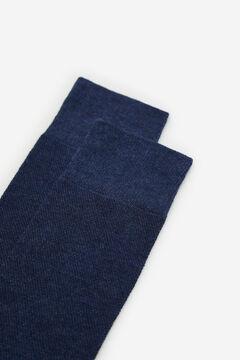Cortefiel Plain EcoCoolmax® socks Navy