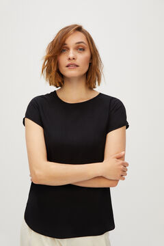 Cortefiel Sustainable blouse Black