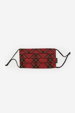 Cortefiel Reusable hygiene mask Red garnet