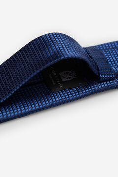 Cortefiel Textured weave tie Turquoise