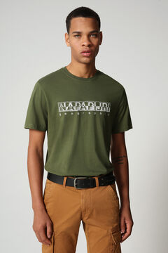 Cortefiel Camiseta SALLAR SS manga corta Napapijri Verde