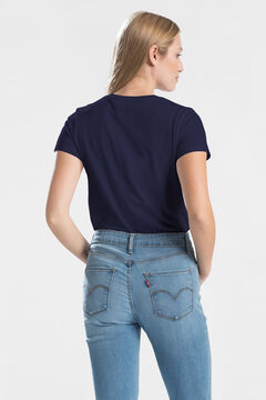 Cortefiel Short-sleeved Levi's® T-shirt with logo Navy