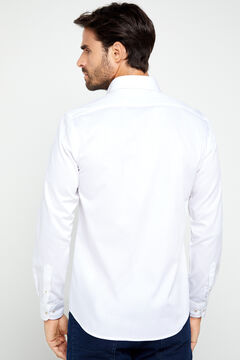Cortefiel Tailored fit COOLMAX® shirt White