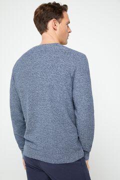 Cortefiel V-neck jumper Turquoise