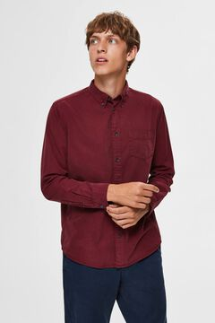 Cortefiel Camisa sostenible regular fit Rosa