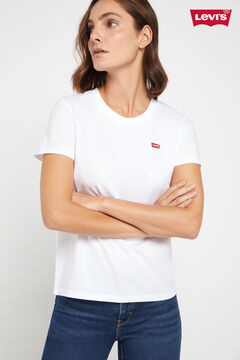 Cortefiel Logo short-sleeved Levi's® T-shirt White