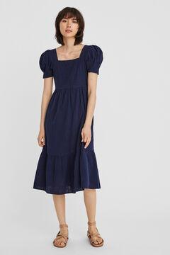 Cortefiel Midi dress  Navy