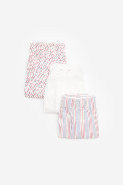 Cortefiel 3-pack woven boxers White