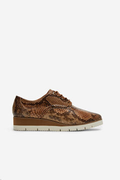 Cortefiel Ultralight blucher shoe Beige