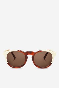 Cortefiel CREAM/LEO TORTOISE JORDAAN  sunglasses Tobaco