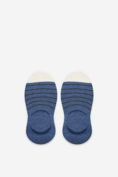 Cortefiel EcoCoolmax® no-show socks Navy