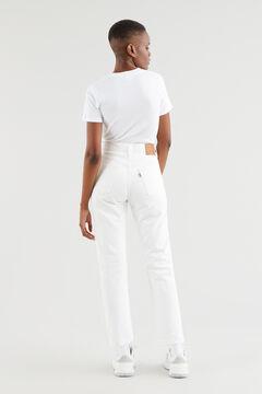 Cortefiel 501 Levi's® CROP White