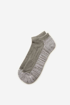 Cortefiel Ankle socks Gray