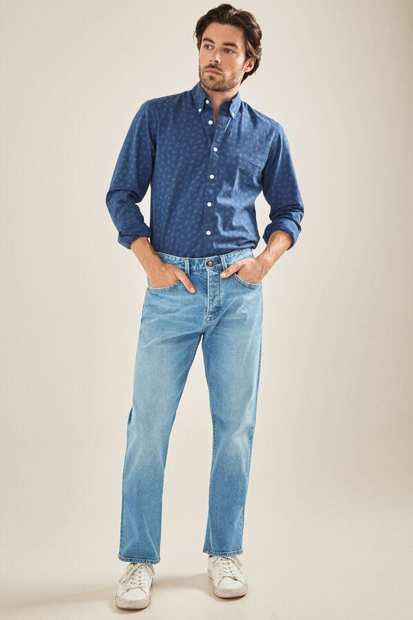 70fab2aba2d95 Cortefiel Classic-fit jeans Light blue