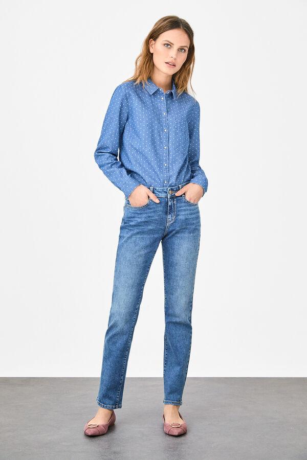 aec1472a46 Cortefiel Jeans slim fit Azul