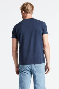 Cortefiel Original Levi's® logo chest t-shirt Navy