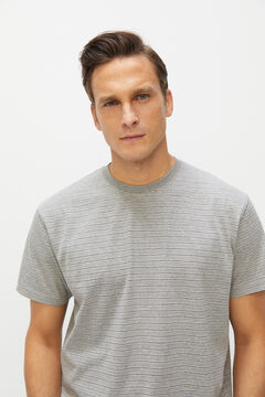Cortefiel Jersey-knit pyjamas Gray