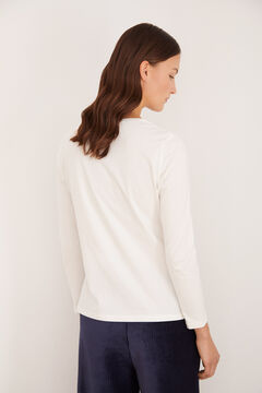 Cortefiel Peanuts t-shirt  White