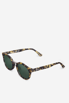 Cortefiel HIGH CONTRAST TORTOISE FITZROY sunglasses Black