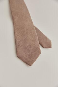Pedro del Hierro Plain tie Beige