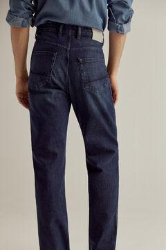 Pedro del Hierro Classic fit dark wash Premium Flex jeans Blue