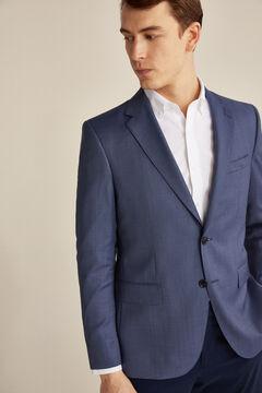 Pedro del Hierro Blazer olho de perdiz tailored fit Azul