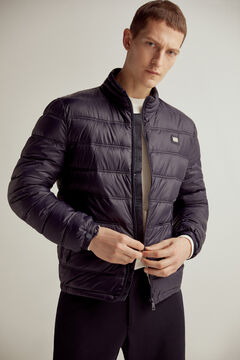 Pedro del Hierro Ultralight quilted jacket Blue