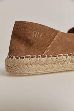 Pedro del Hierro Slip-on rubber-soled sneaker Beige