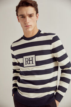 Pedro del Hierro Crew neck sweatshirt Blue