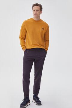 Pedro del Hierro Sweatshirt gola caixa Amarelo