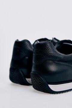 Pedro del Hierro New icon sneaker with rubber sole  Black