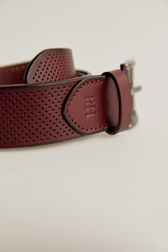 Pedro del Hierro Nylon urban belt Brown