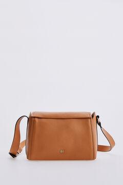Pedro del Hierro Leather crossbody bag Yellow