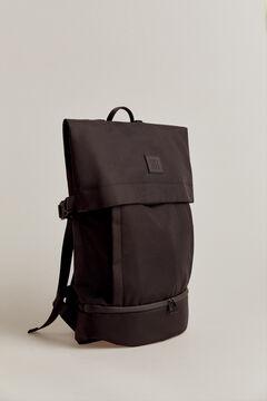 Pedro del Hierro Nylon backpack Black
