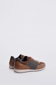 Pedro del Hierro Icon sneaker with rubber sole  Beige