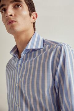 Pedro del Hierro Camisa de vestir rayas non-iron Azul