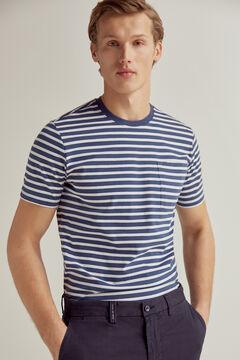 Pedro del Hierro Short-sleeved t-shirt Blue