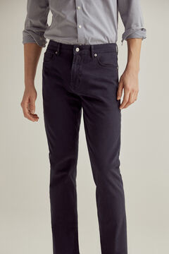 Pedro del Hierro Coloured slim fit 5-pocket TX Protect premium flex jeans Blue