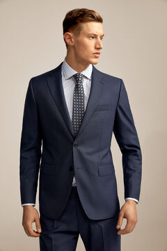Pedro del Hierro Tailored fit suit blazer Blue