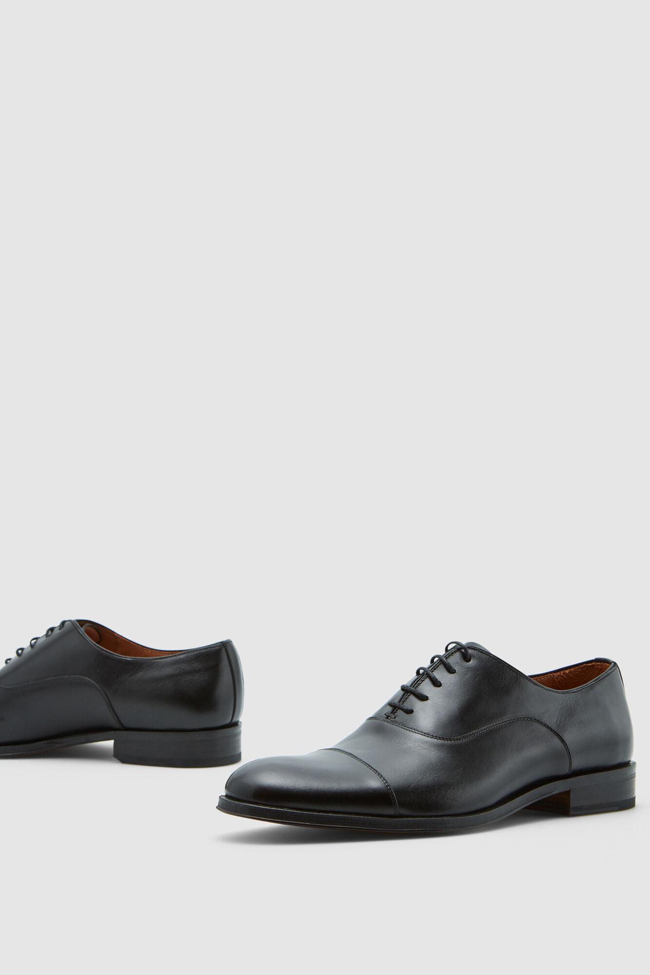 Sapato pele oxford cordões