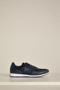 Pedro del Hierro Icon sneaker with rubber sole  Blue