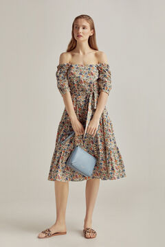 Pedro del Hierro Liberty print dress Green