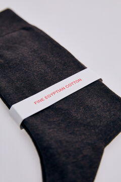 Pedro del Hierro Plain stretch socks Brown