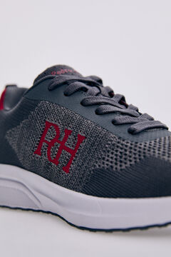 Pedro del Hierro Recycled fabric sneaker Red