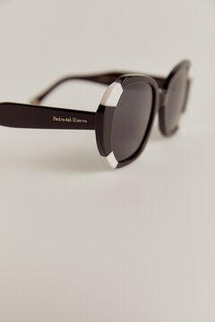 Pedro del Hierro Maxi gafa bicolor Negro