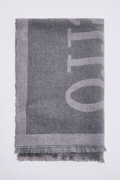 Pedro del Hierro Blanket scarf Grey