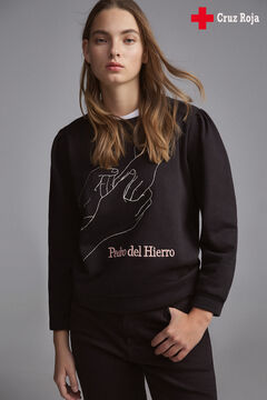 Pedro del Hierro Solidarity sweatshirt Black