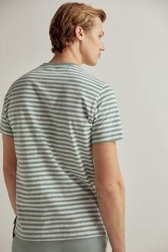 Pedro del Hierro Short-sleeved t-shirt Burgundy