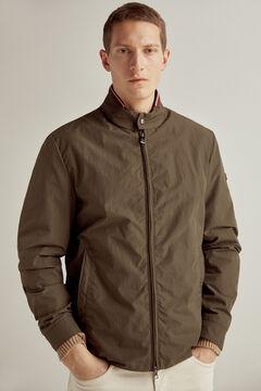 Pedro del Hierro PdH big logo jacket Grey