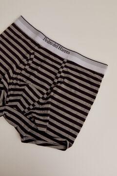 Pedro del Hierro Striped jersey-knit boxers Black